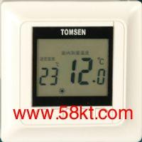 汤姆森墙暖专用液晶温控器