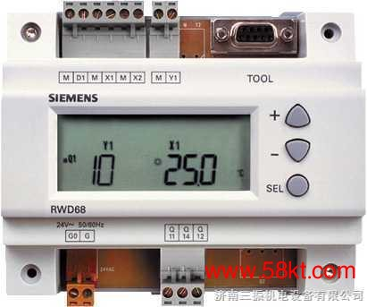 西门子RWD62原装控制器