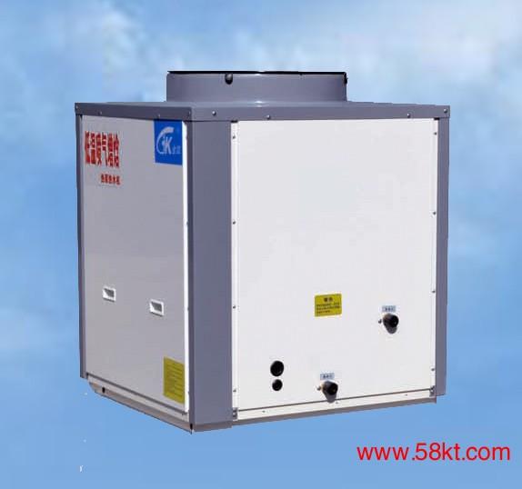 超低温喷气增焓热泵