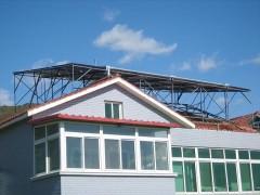 自动防冻太阳能热水器