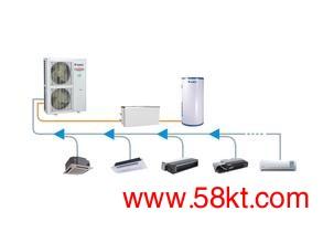 格力直流变频多联空调热水机组