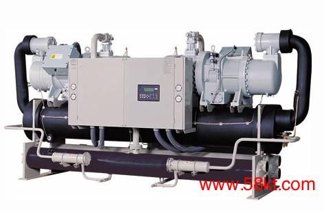 逆流式水地源热泵机组