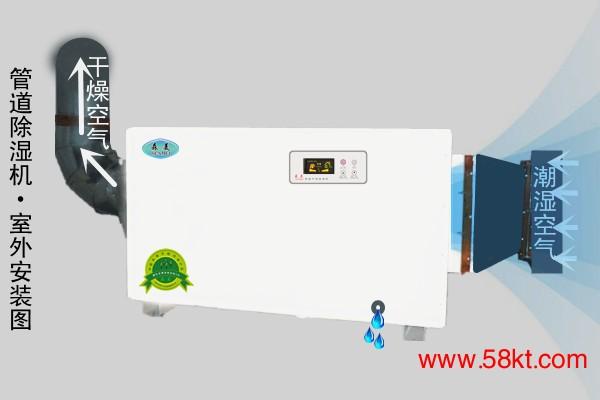 管道除湿机森美HK5.7G