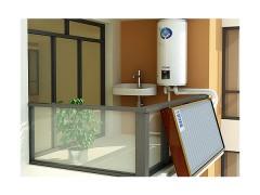 高层平板太阳能热水器