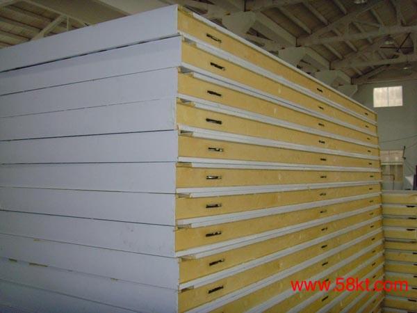聚氨酯彩钢冷库板