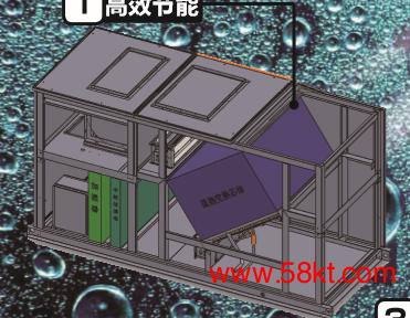 实验室专用全新风热回收空调机
