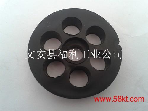 空调支架七孔橡胶减震垫