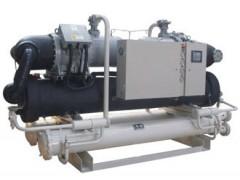 水冷螺杆低温冷水机组单压缩机