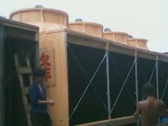 方型横流式冷却水塔