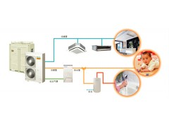中央空调地暖生活热水多功能