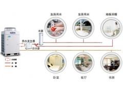 格力中央空调+地暖+热水一体机