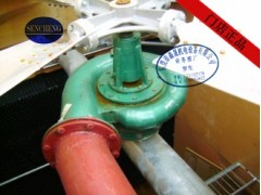 横流水轮机冷却塔