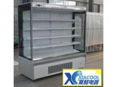 超市蔬果风幕柜冷藏柜