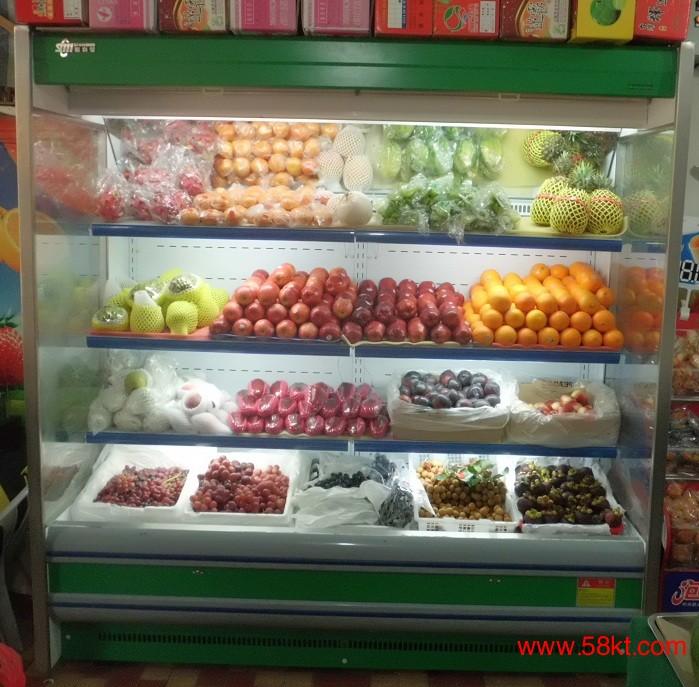 水果立风柜