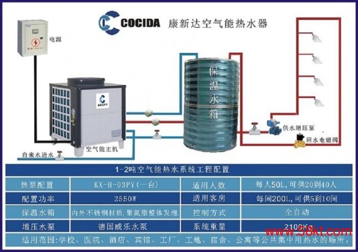 成都商用空气源热泵热水器