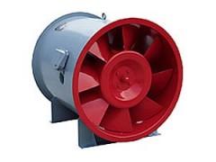 低噪声消防高温排烟风机