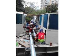 风冷模块热泵机组安装