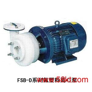 广泉氟塑料耐腐蚀化工泵