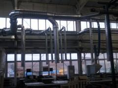 镀锌螺旋风管, 青岛木工中央除尘设计安装
