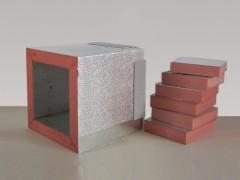 双面铝箔挤塑风道板