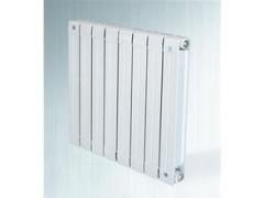 铜铝复合双水道暖气片