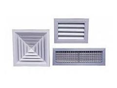 空调铝合金百叶风口系列
