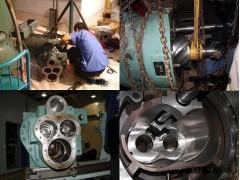 中央空调压缩机修理, 压缩机进水修理