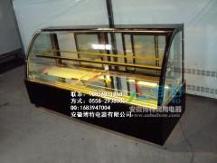 浙江双层矮弧形蛋糕展示柜