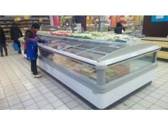 武汉梅花双出风岛柜, 超市冷冻食品专用