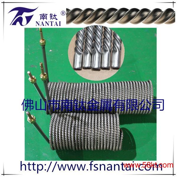 超长无焊接钛螺纹管