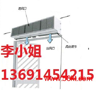 绿岛风吊顶式风幕机