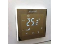 超薄温控器Q8触摸显示, 空调温控器、地暖温控器
