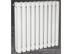 内蒙60片头扁管双柱钢制散热器