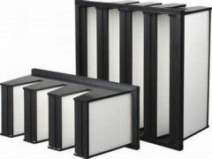 无隔板高效过滤器, 中央空调机组