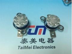 TM2温控开关金属壳平角活动环