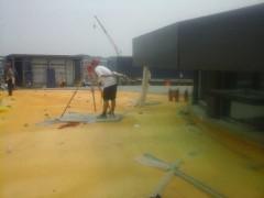 喷涂聚氨酯屋面保温