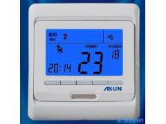 AC01电采暖液晶温控器, 电地暖、电热膜、电辐射器温度控