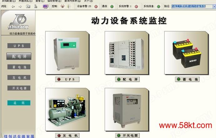 佳创达机房动力设备监控系统