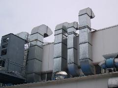 数控机床换气通风管