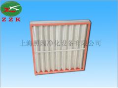 耐高温铝框折叠过滤器