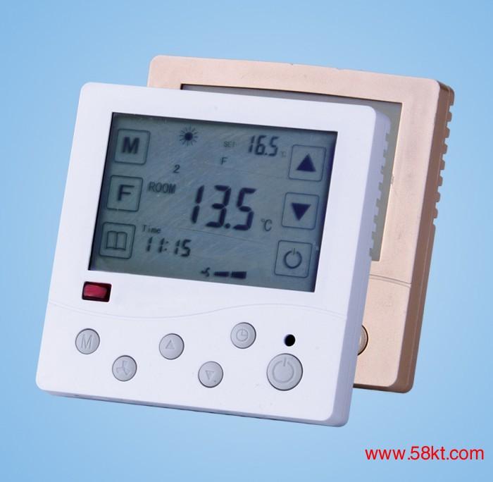 东韩水地暖数字液晶温控器