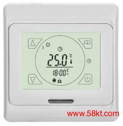 电地暖触屏温控器
