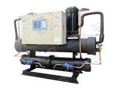 东星水冷开放低温冷水机组, 使用于低温反应釜系统