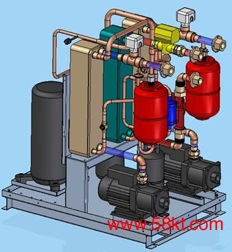 地源热泵供暖空调系统