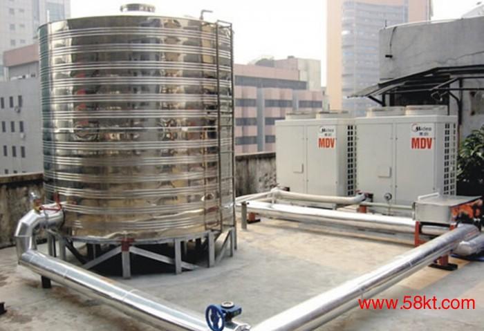 美的空气能中央热水商用