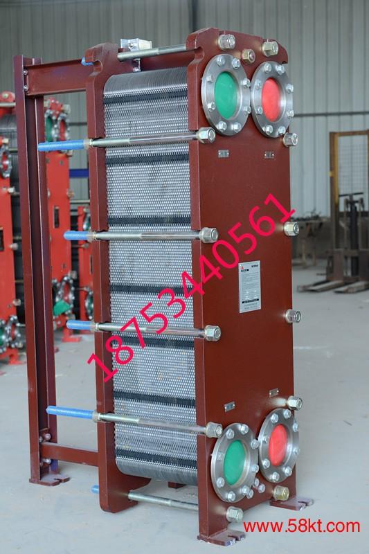 铝氧化槽冷却用不锈钢板式换热器