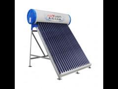 晏远太阳能-18管太阳能热水器, 家用直插式一体机(玻璃管)