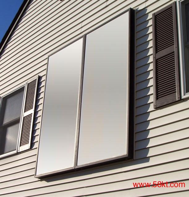 别墅平板太阳能热水器