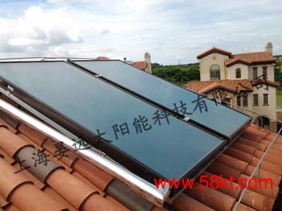 上海别墅分体式太阳能热水器
