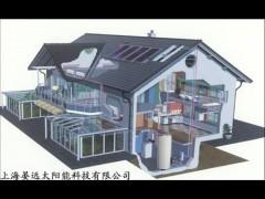 上海别墅分体太阳能安装